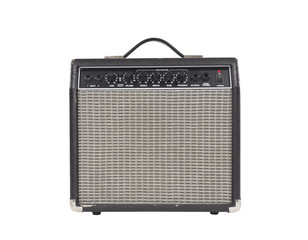 Worn Vintage Guitar Amplifier