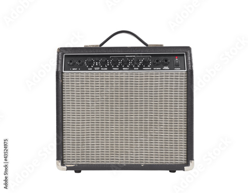 Worn Vintage Guitar Amplifier