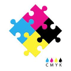 CMYK vector logo