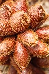 Salacca zalacca, Thai sweet fruit.