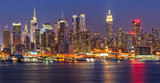 Manhattan at night - 43526530