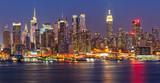Manhattan at night - Fine Art prints