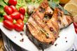 Grilled Salmon - Salmone alla griglia