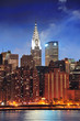 Chrysler Building in New York City Manhattan