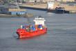 Containerschiff, Feederschiff, Elbe, Hamburger Hafen, Hamburg