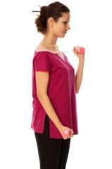 exercises using dumbbells
