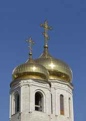Dome of the Cathedral of Christ the Savior Cathedral in Pyatigor