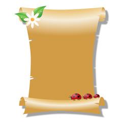 parchment gold