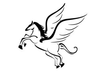 cavallo alato tattoo