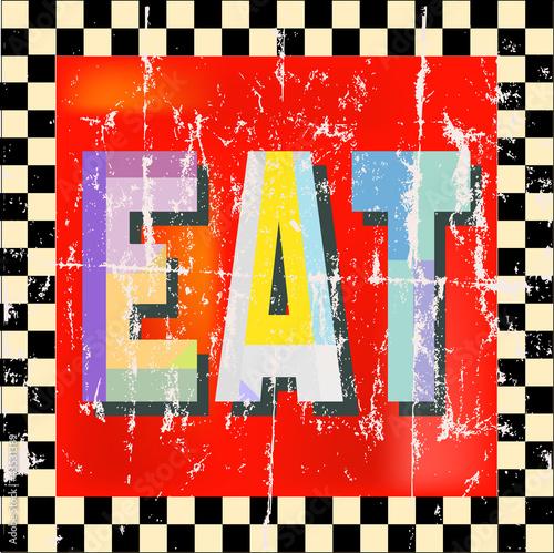 rocznika-goscia-restauracji-znak-wektorowa-ilustracja-rosnaca