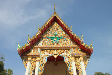 Temple in art and architecture identity of Thailand