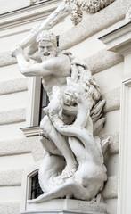 Hercules and Cerberus - Hofburg Vienna Austria