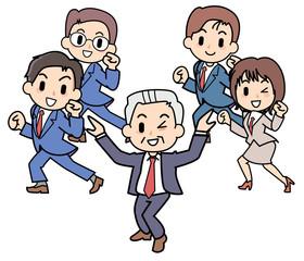 Dancing president