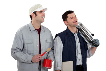 Decorator and tiler