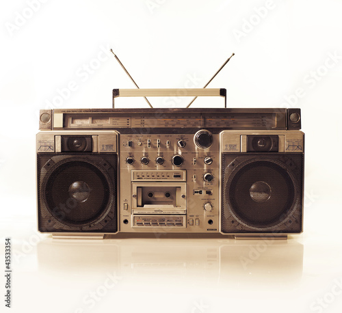 retro ghettoblaster