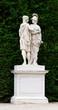 Schonbrunn palace in Vienna Austria - Garden statue detail