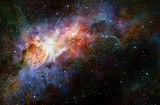 starry deep outer space nebual and galaxy - Fine Art prints