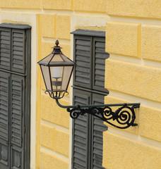 Schonbrunn palace in Vienna Austria - Lamp detail