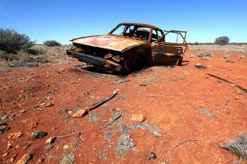 Désert rouge de l'Australie