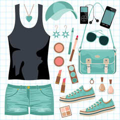 Youth fashionable set