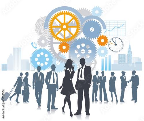 Unternehmen in Bewegung und Entwicklung