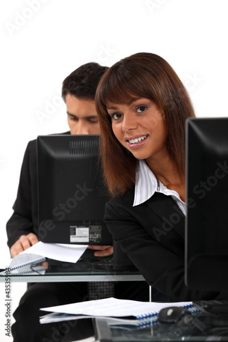 Data entry clerks