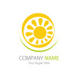 Company (Business) Logo Design, Vector, Sun