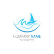 Company (Business) Logo Design, Vector , Sailboat