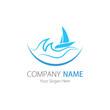 Company (Business) Logo Design, Vector , Sailboat