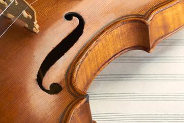 violin background