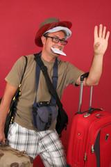 Turista, viaje, viajar