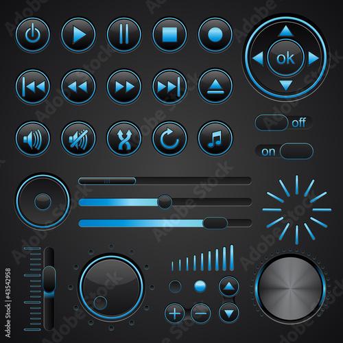 Media button