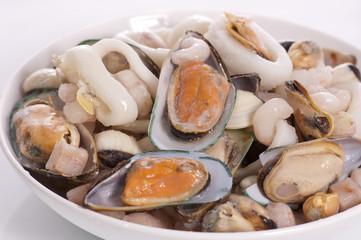 sopa de mariscos congelada