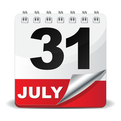 31 JULY ICON