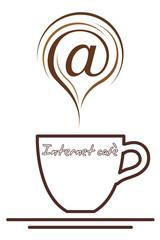 Internet cafè logo
