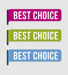 Modern  label – best choice