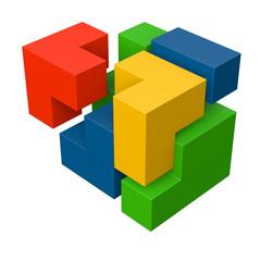 Puzzle - erfolgreiche Lösung