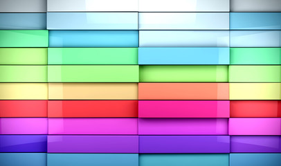 fondo abstracto de baldosas de colores