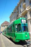 Fototapeta tramwajowych - szwajcaria - Tramwaj