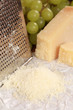Geriebener Parmesan Käse