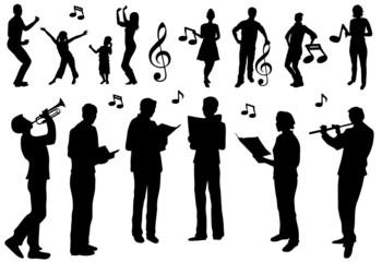 Chor Gruppe Gesang Tanz Konzert Musik