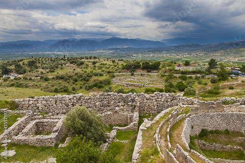 Acropolis of Mycenae,Greece
