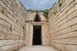 Treasury of Atreus n Mycenae,Greece
