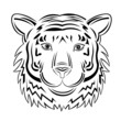 tiger outlines