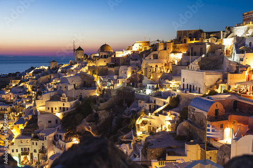 Oia village, Santorini island,Greece