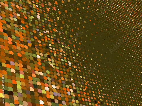 3D Colorful Dots Abstract. EPS 8