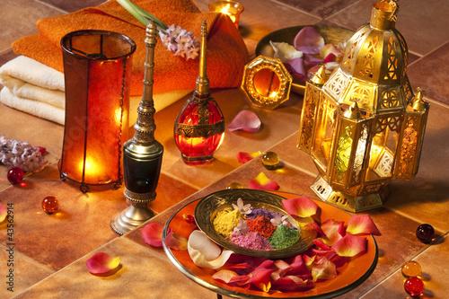 Staande foto Marokko Ambiance orientale.