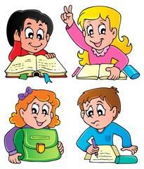 School pupils theme image 2