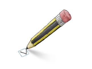 Pencil check