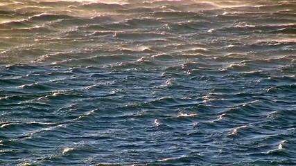 Waves on the sea